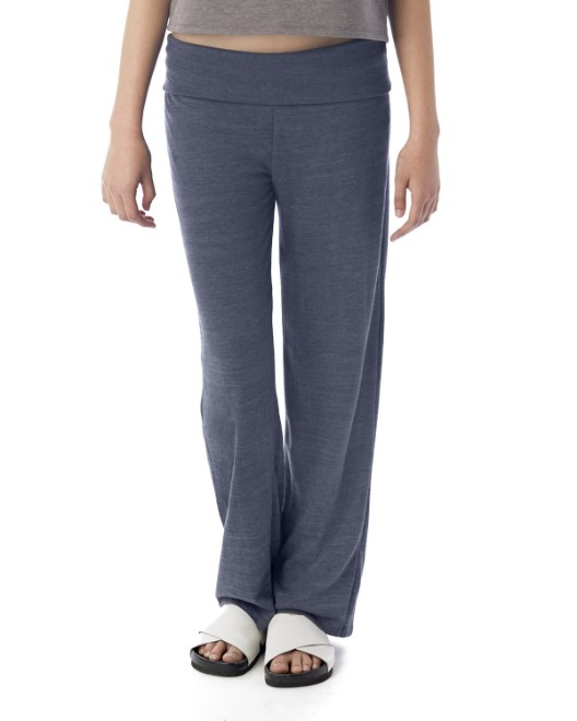 Picture of Alternative 2901E Womens Fold Over Eco Jersey Pants