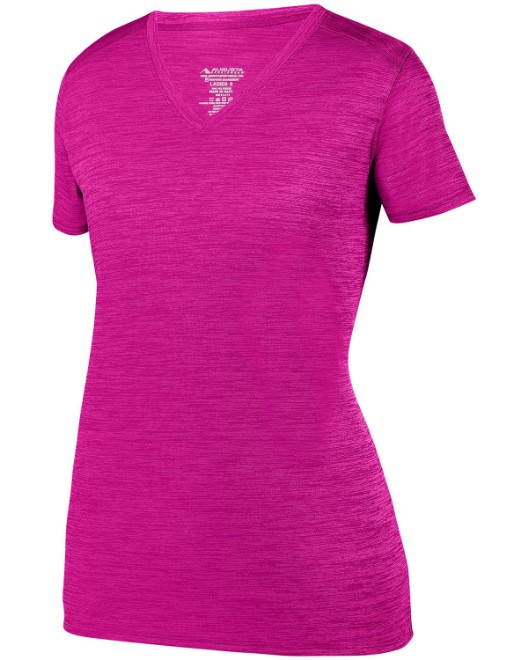 Picture of Augusta Sportswear 2902 Womens Shadow Tonal Heather Short-Sleeve Training T-Shirt