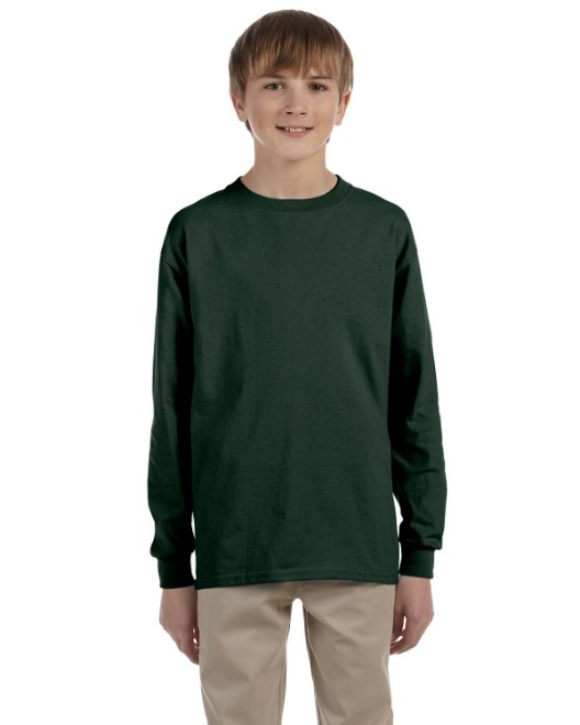 Picture of Jerzees 29BL Youth 5.6 oz. DRI-POWER ACTIVE Long-Sleeve T-Shirt