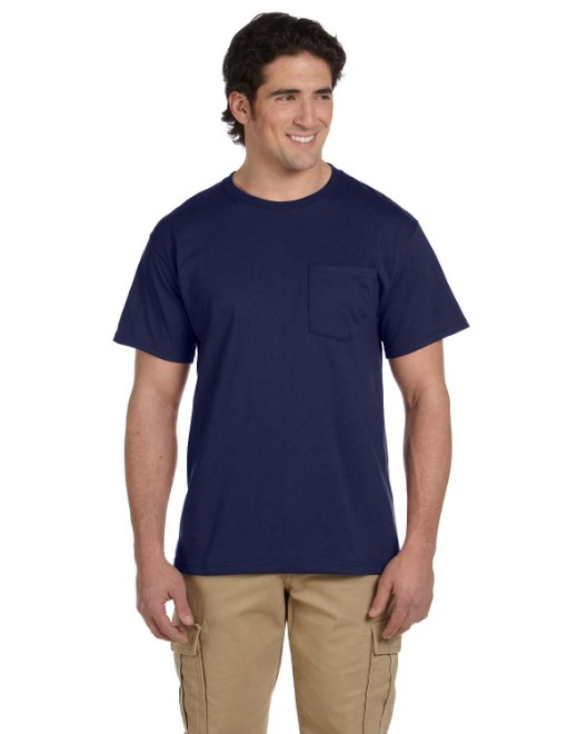 Picture of Jerzees 29P Adult 5.6 oz. DRI-POWER ACTIVE Pocket T-Shirt
