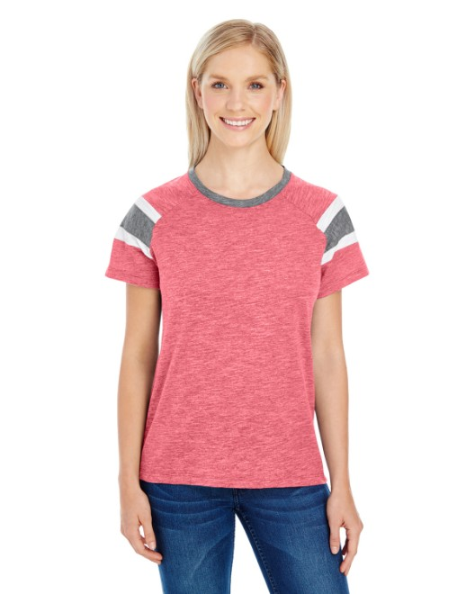Picture of Augusta Sportswear 3011 Womens Fanatic Short-Sleeve T-Shirt