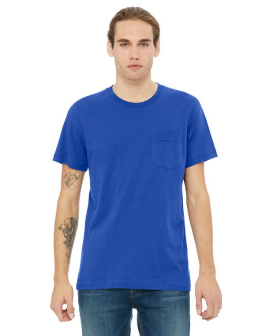 Picture of Bella + Canvas 3021 Men's Jersey Short-Sleeve Pocket T-Shirt