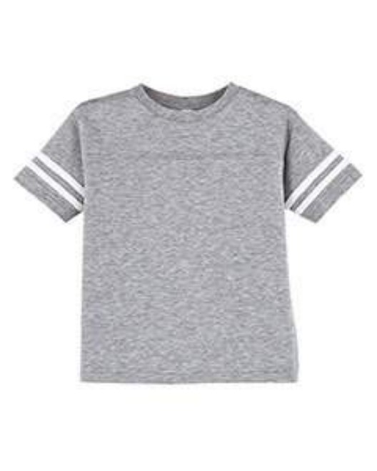 Picture of Rabbit Skins 3037 Toddler Football Fine Jersey T-Shirt