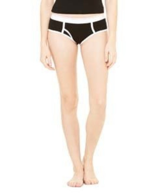 Picture of Bella + Canvas 304 Womens Cotton/Spandex Boyfriend Brief