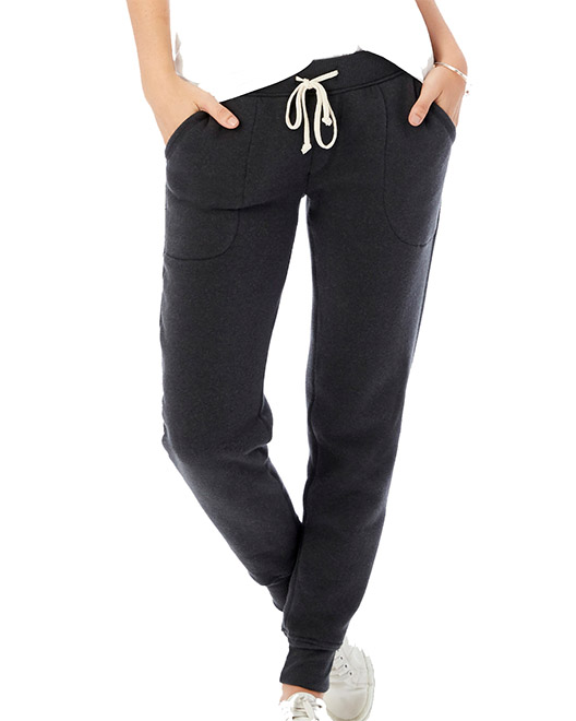 Picture of Alternative 31082F Womens Jogger Eco-Fleece Pant