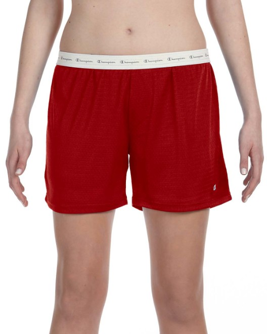 Picture of Champion 3393 Womens  Mesh Short