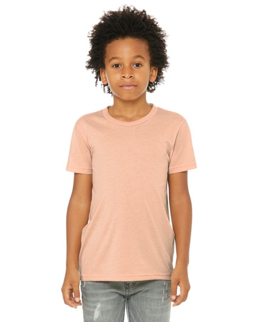 Picture of Bella + Canvas 3413Y Youth Triblend Short-Sleeve T-Shirt