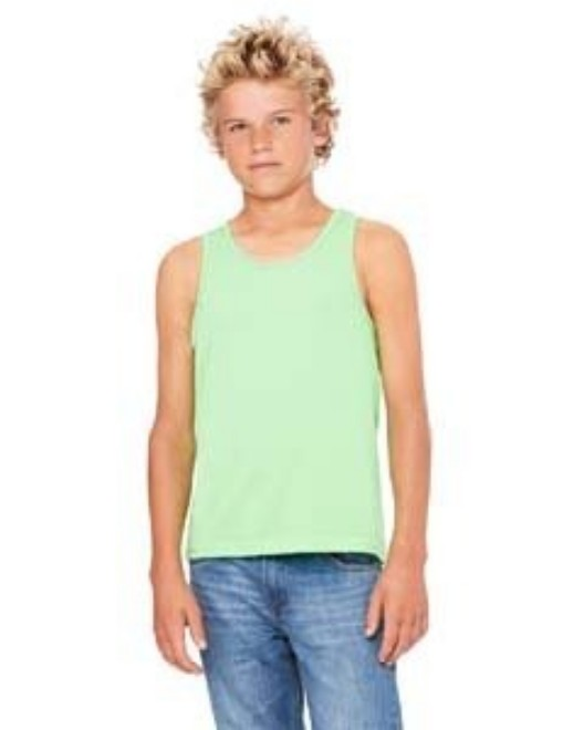 Picture of Bella + Canvas 3480Y Youth Jersey Tank