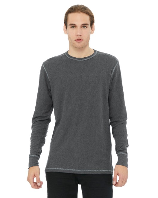 Picture of Bella + Canvas 3500 Men's Thermal Long-Sleeve T-Shirt