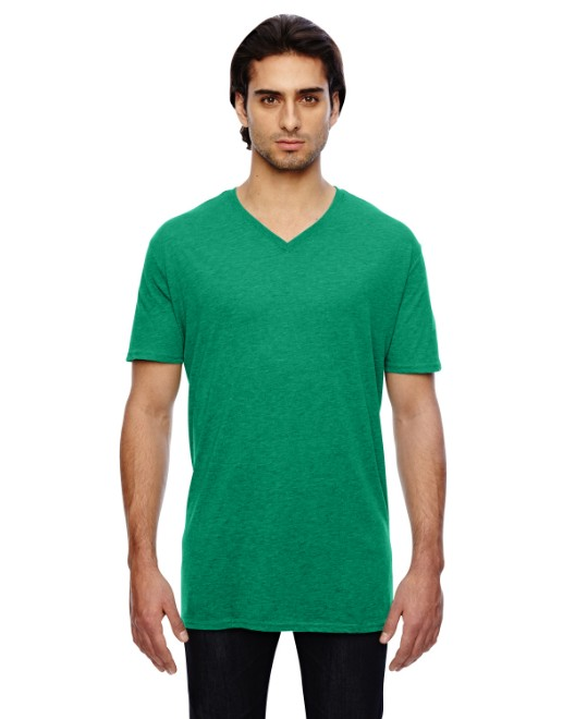 Picture of Anvil 352 Adult Featherweight V-Neck T-Shirt