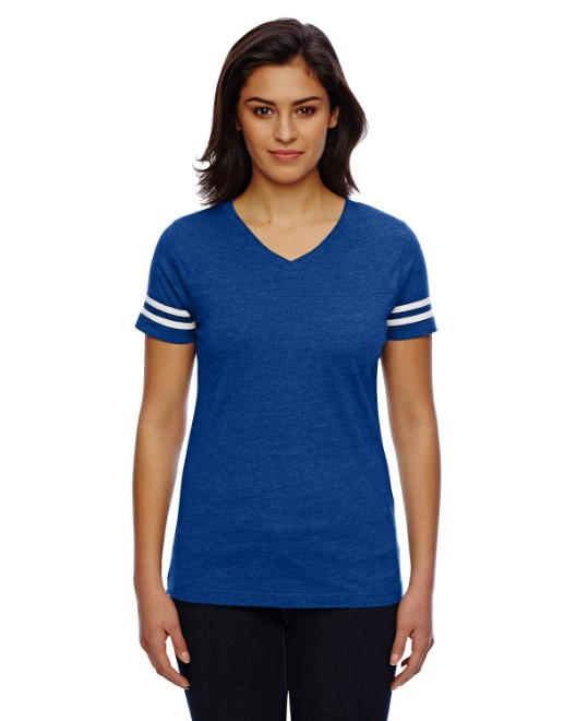 Picture of LAT 3537 Womens Football Fine Jersey T-Shirt