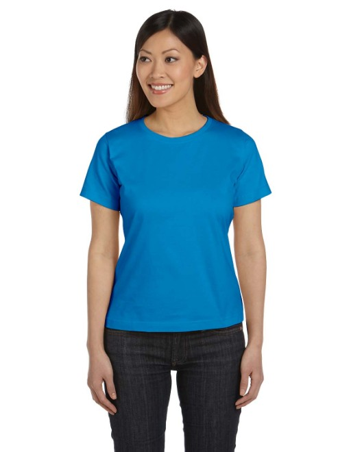 Picture of LAT 3580 Womens Premium Jersey T-Shirt