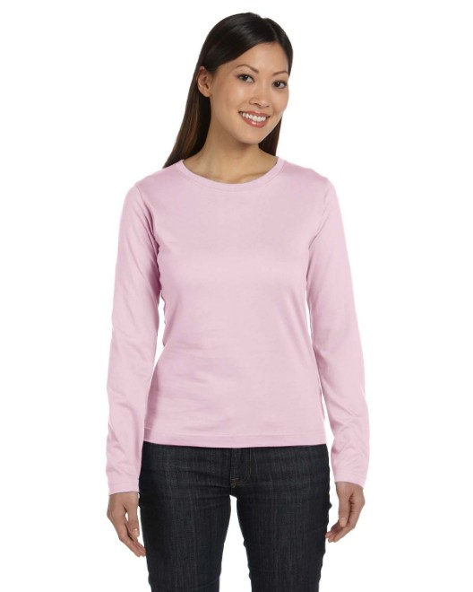Picture of LAT 3588 Ladies' Long-Sleeve Premium Jersey T-Shirt