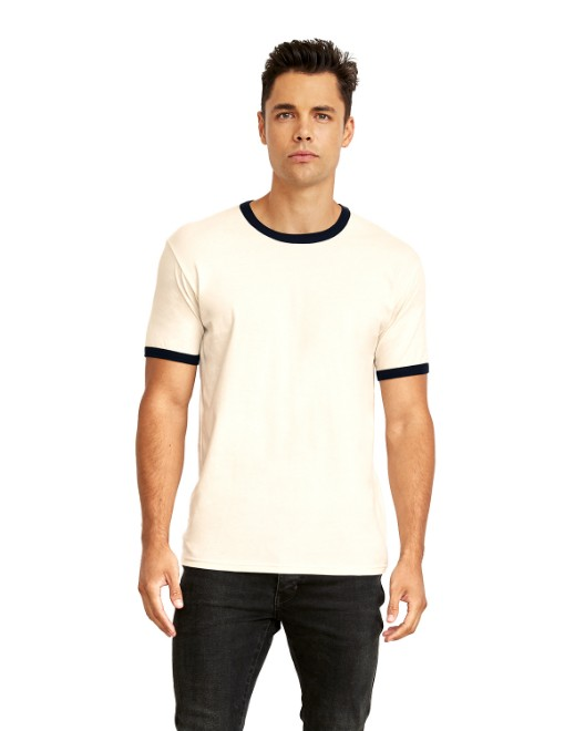 Picture of Next Level 3604 Unisex Ringer T-Shirt