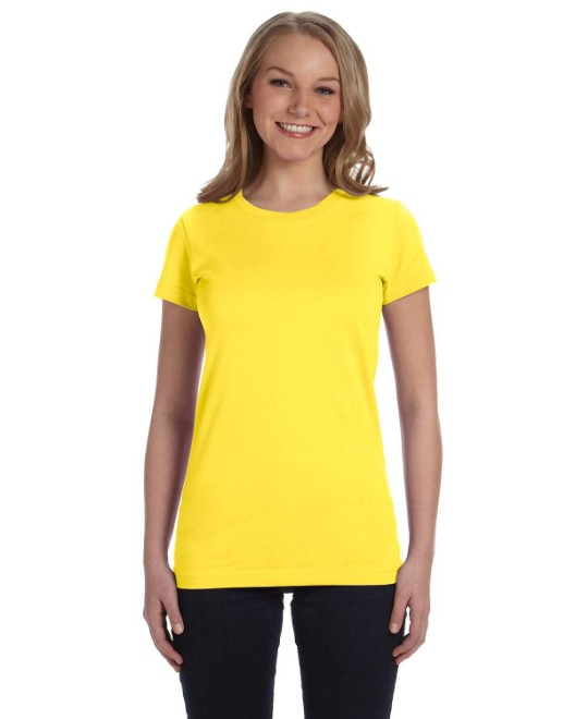 Picture of LAT 3616 Womens Junior Fit Fine Jersey T-Shirt