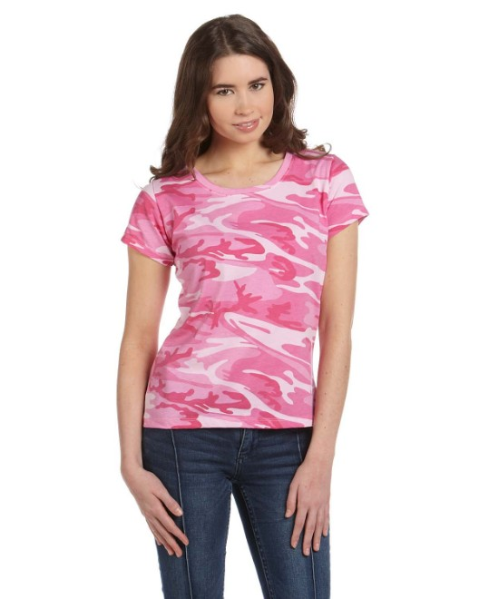 Picture of Code Five 3665 Womens Camo T-Shirt
