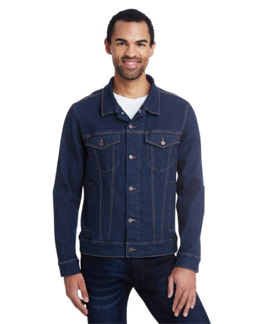 Picture of Threadfast Apparel 370J Unisex Denim Jacket