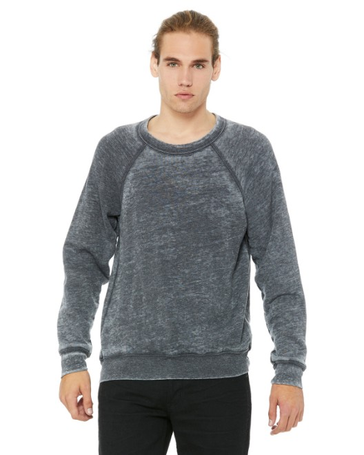 Picture of Bella + Canvas 3901 Unisex Sponge Fleece Crewneck Sweatshirt