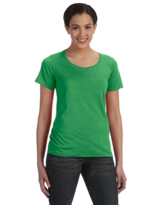 Picture of Anvil 391A Womens Featherweight Scoop T-Shirt