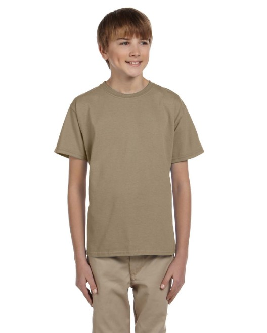 Picture of Fruit of the Loom 3931B Youth 5 oz. HD Cotton T-Shirt