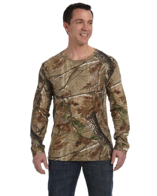 Picture of Code Five 3981 Men's Realtree Long-Sleeve Camo T-Shirt