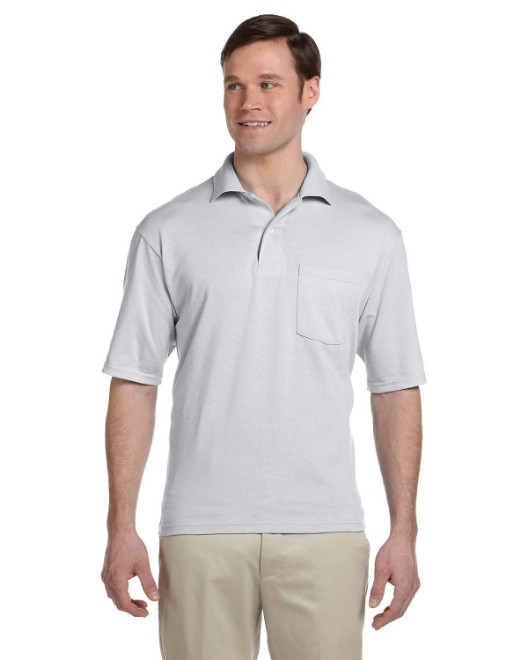 Picture of Jerzees 436P Adult 5.6 oz. SpotShield Pocket Jersey Polo