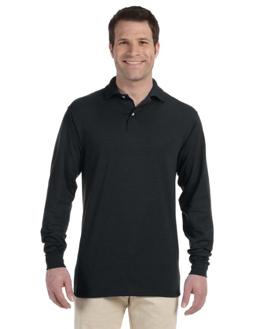 Picture of Jerzees 437ML Adult 5.6 oz. SpotShield Long-Sleeve Jersey Polo