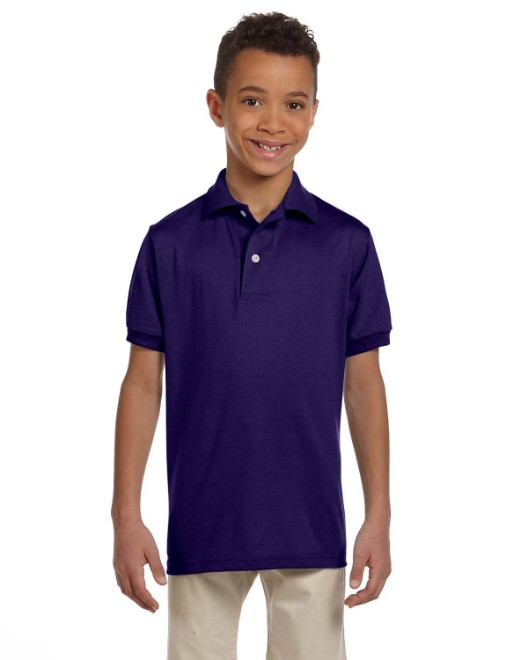 Picture of Jerzees 437Y Youth 5.6 oz. SpotShield Jersey Polo