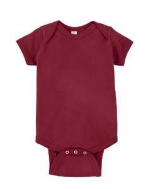 Picture of Rabbit Skins 4424 Infant Fine Jersey Bodysuit