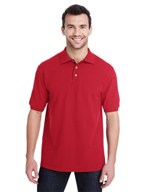 Picture of Jerzees 443MR Adult 6.5 oz. Premium 100% Ringspun Cotton Pique Polo