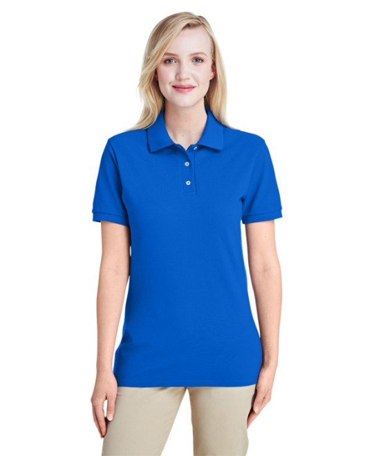 Picture of Jerzees 443WR Womens 6.5 oz. Premium 100% Ringspun Cotton Pique Polo