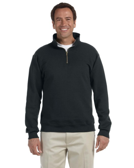 Picture of Jerzees 4528 Adult 9.5 oz. Super Sweats NuBlend Fleece Quarter-Zip Pullover
