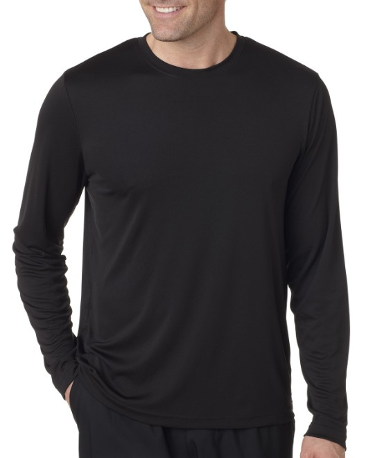 Picture of Hanes 482L Adult Cool DRI with FreshIQ Long-Sleeve Performance T-Shirt