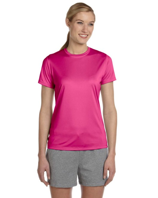 Picture of Hanes 4830 Womens Cool DRI with FreshIQ Performance T-Shirt
