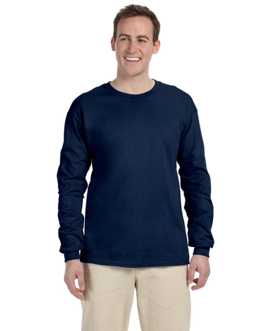 Picture of Fruit of the Loom 4930 Adult 5 oz. HD Cotton Long-Sleeve T-Shirt