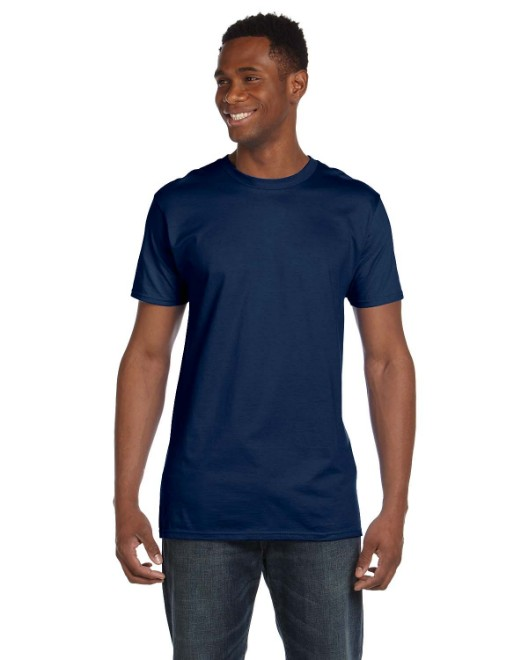 Picture of Hanes 4980 Adult 4.5 oz., 100% Ringspun Cotton nano-T T-Shirt