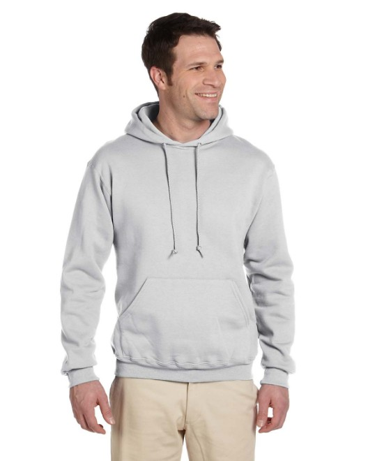 Picture of Jerzees 4997 Adult 9.5 oz. Super Sweats NuBlend Fleece Pullover Hood