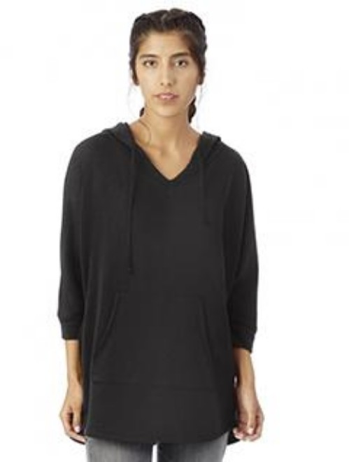 Picture of Alternative 5072BT Womens French Terry Gameday Poncho