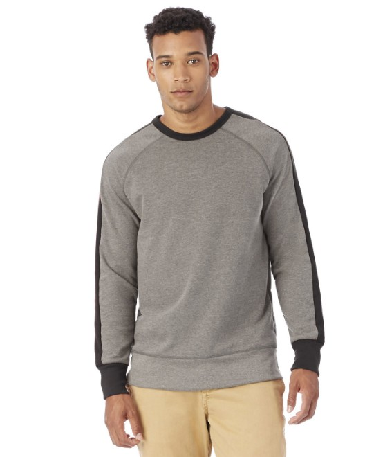 Picture of Alternative 5079BT Men's French Terry University Pullover