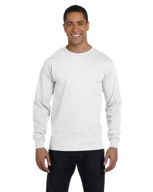 Picture of Hanes 5286 Men's 5.2 oz. ComfortSoft Cotton Long-Sleeve T-Shirt