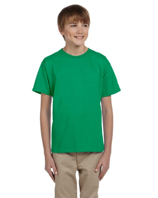 Picture of Hanes 5370 Youth 5.2 oz., 50/50 EcoSmart T-Shirt