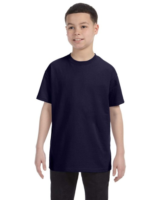 Picture of Hanes 54500 Youth 6.1 oz. Tagless T-Shirt