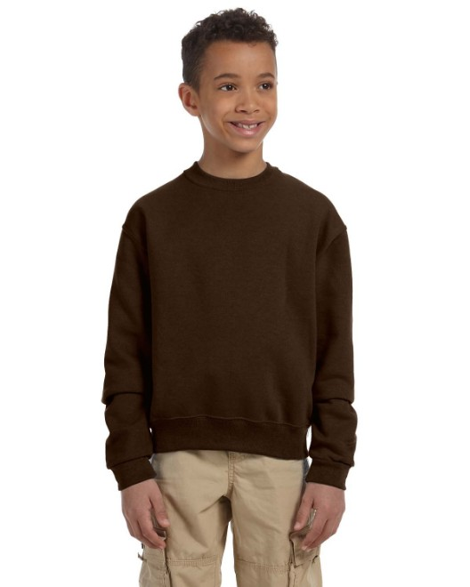 Picture of Jerzees 562B Youth 8 oz. NuBlend Fleece Crew