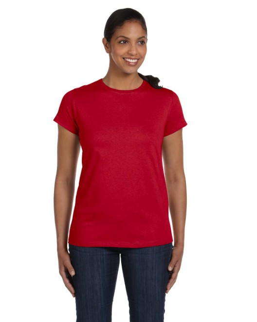 Picture of Hanes 5680 Womens 6.1 oz. Tagless T-Shirt