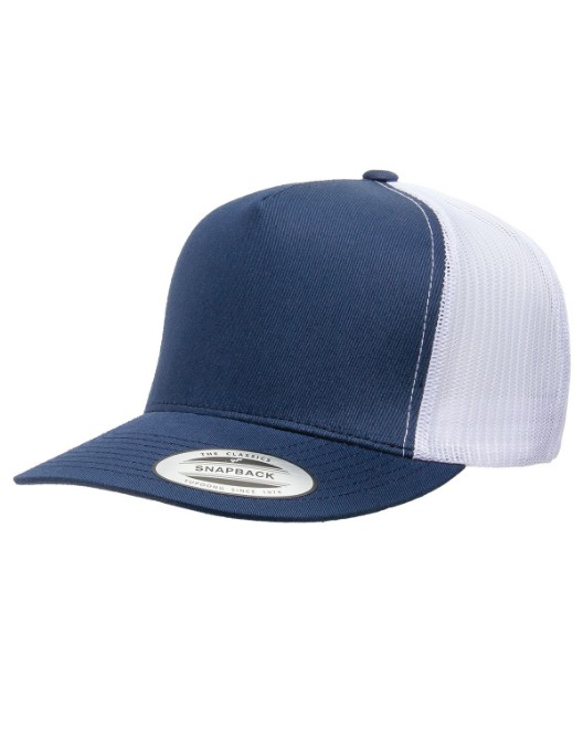 Picture of Yupoong 6006 Adult 5-Panel Classic Trucker Cap