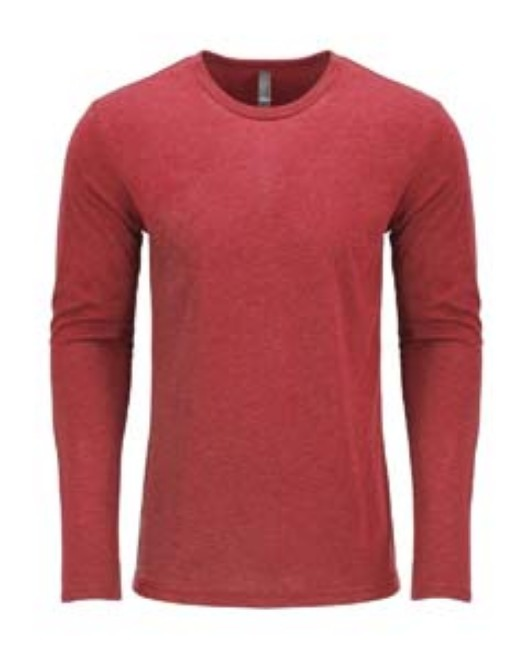 Picture of Next Level 6071 Men's Triblend Long-Sleeve Crew