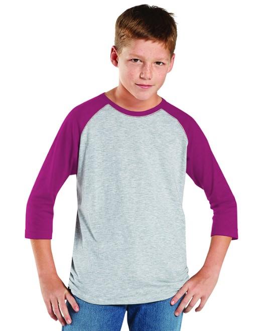 Picture of LAT 6130 Youth Baseball Fine Jersey T-Shirt