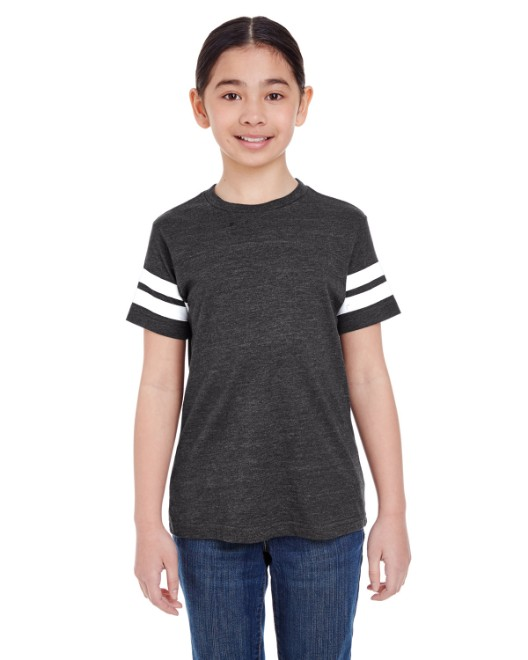Picture of LAT 6137 Youth Football Fine Jersey T-Shirt