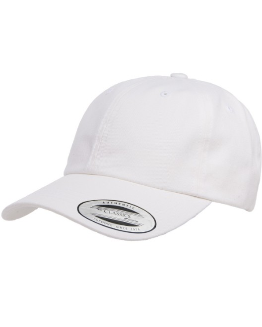Picture of Yupoong 6245PT Adult Peached Cotton Twill Dad Cap
