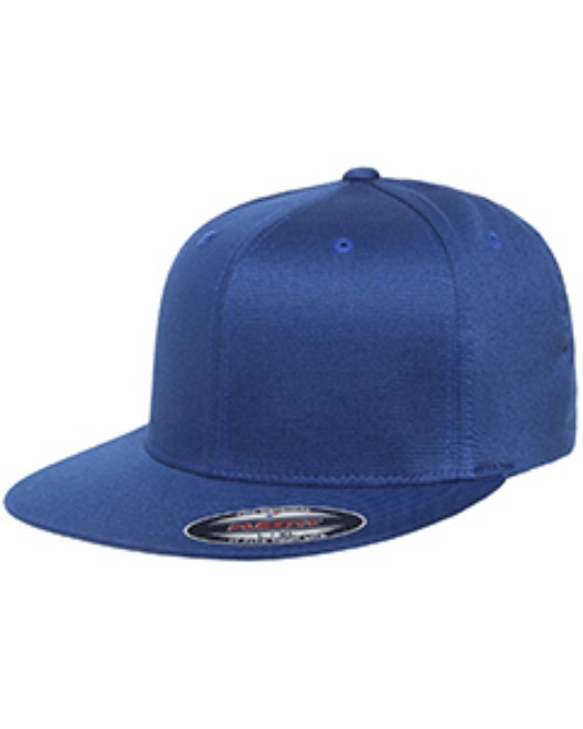 Picture of Flexfit 6297F Adult Wooly Twill Pro Baseball On-Field Shape Cap with Flat Bill